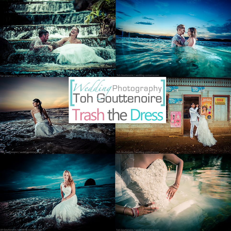 Toh Gouttenoire Trash the Dress Collage
